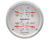 Autometer Arctic White 5&#34 Quad Gauge